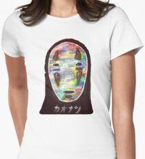 Spirited Away No Face! Kaonashi Womens Fitted T-Shirt