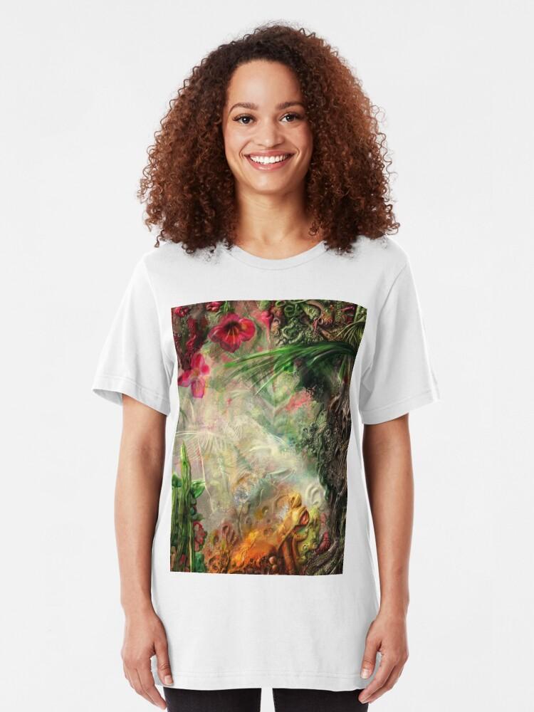 Alternate view of Qualia's Jungle Slim Fit T-Shirt