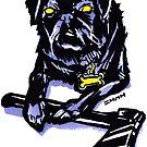 Axe Wielding Pug RBPetMonsters by sketchNkustom