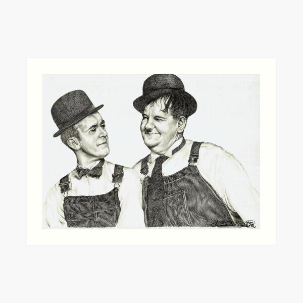 'Tell me that again Ollie' Art Print