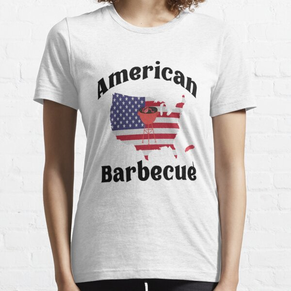 BBQ Barbecue Amerikanisches Barbecue Essential T-Shirt