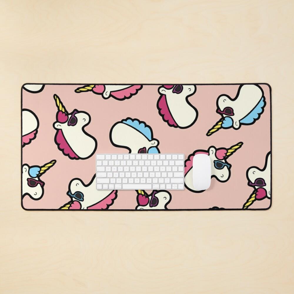 Unicorns Are Cool Pattern - Multi Mouse Pad