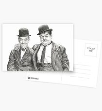 Mr Laurel & Mr Hardy Postcards