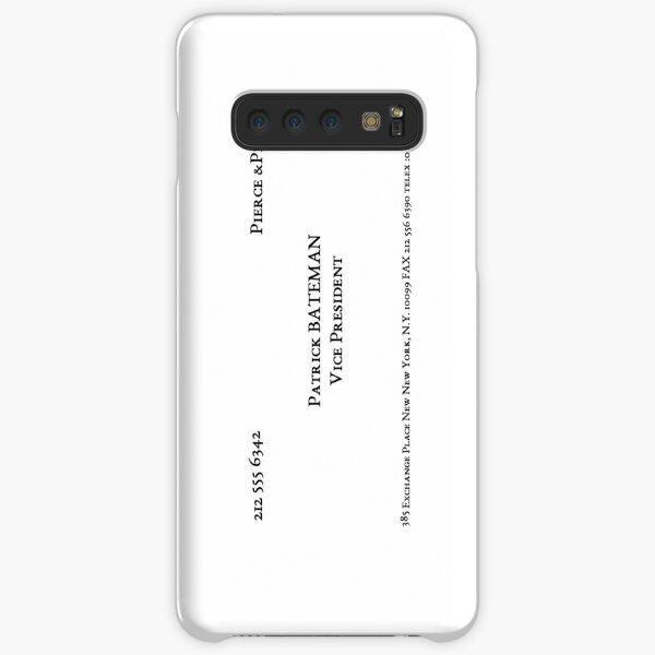 American Psycho Bateman Business Card Samsung Galaxy Snap Case