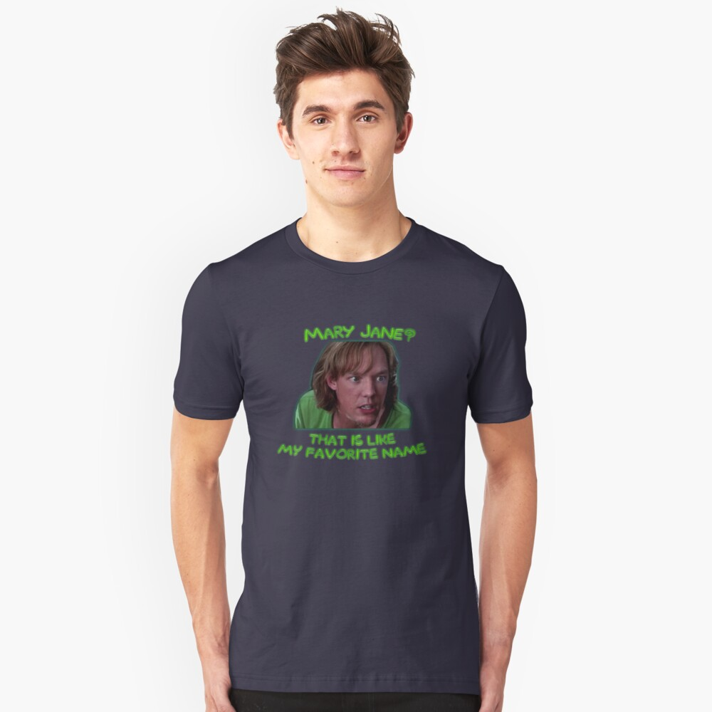 Shaggy and Mary Jane Unisex T-Shirt Front