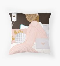 Mermaid II Throw Pillow