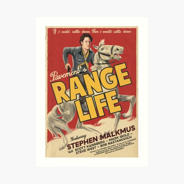 Range Life Art Print