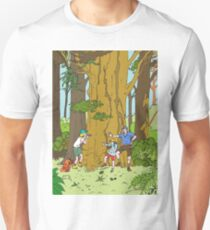 Walking amongst the giants T-Shirt