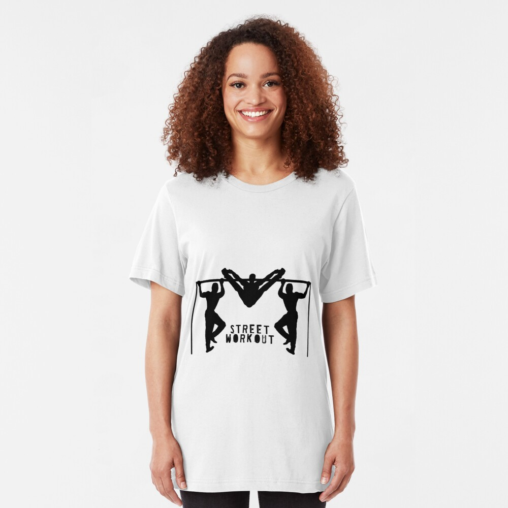 STREET WORKOUT Slim Fit T-Shirt