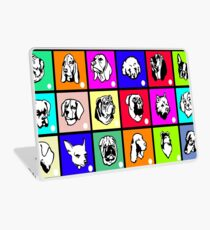 Dogs Living Colors Laptop Skin