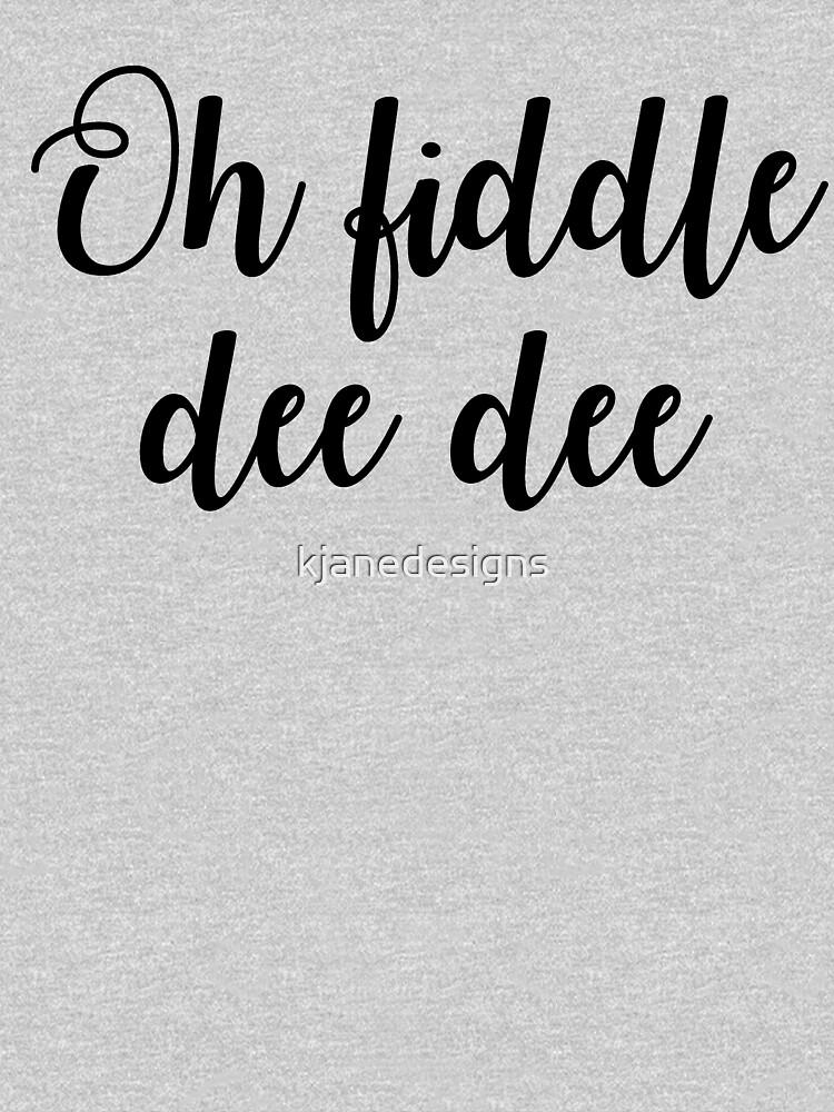 Oh Geige Dee Dee von kjanedesigns