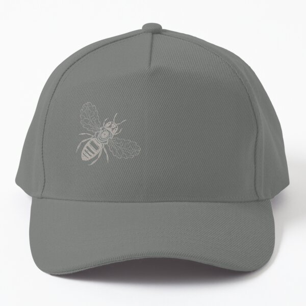 Sketched Bee Baseball Cap