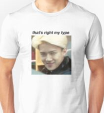"Sehun ""that's right my type"" Unisex T-Shirt"