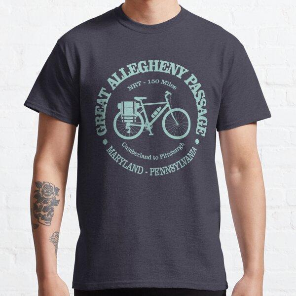 Passage du Grand Allegheny (vélo) T-shirt classique