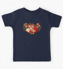 Fox Mom & Pup Kids Tee