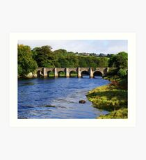 Castle Bridge, Buncrana Art Print