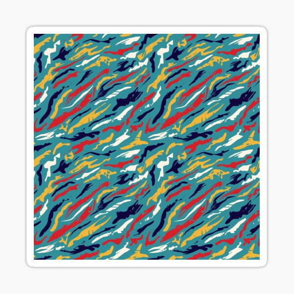 Space Colors - Crazy mixed colours Sticker