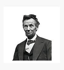Lincoln Photographic Print