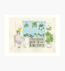 Plant Life Art Print