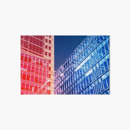 Abstract architecture Art Board Print