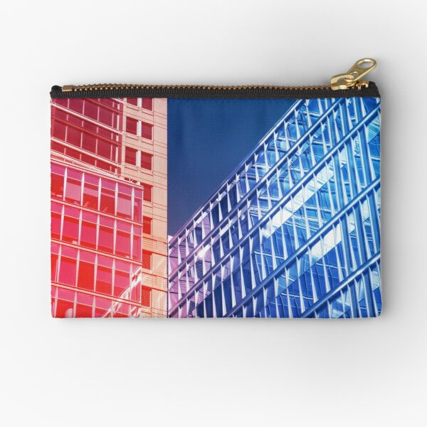 Abstract architecture Zipper Pouch