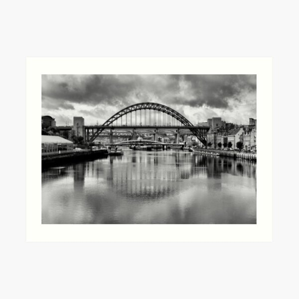 River Tyne Bridges Art Print