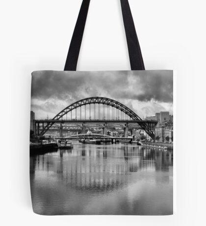 River Tyne Bridges Tote Bag