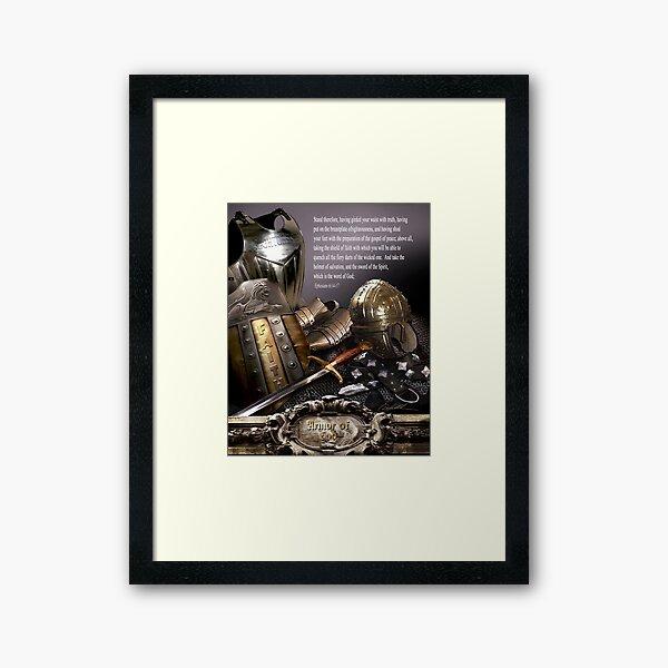 Armor of God Framed Art Print