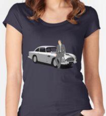 """Bond.... James Bond"" Women's Fitted Scoop T-Shirt"