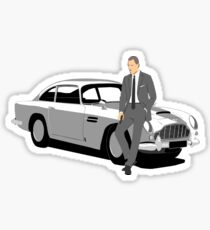 """Bond.... James Bond"" Sticker"