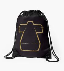 Justice Cross Drawstring Bag