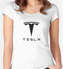 Tesla Motors Women's Fitted Scoop T-Shirt