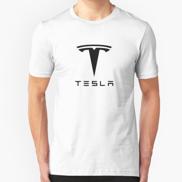 Tesla Motors Slim Fit T-Shirt