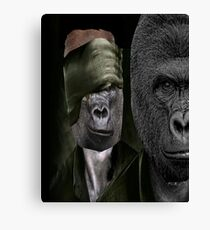 KUMBUKA THE GOVERNOR HARAMBE RICK Canvas Print