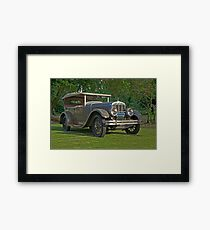1926 Franklin Sport Touring Series 11 A Framed Print
