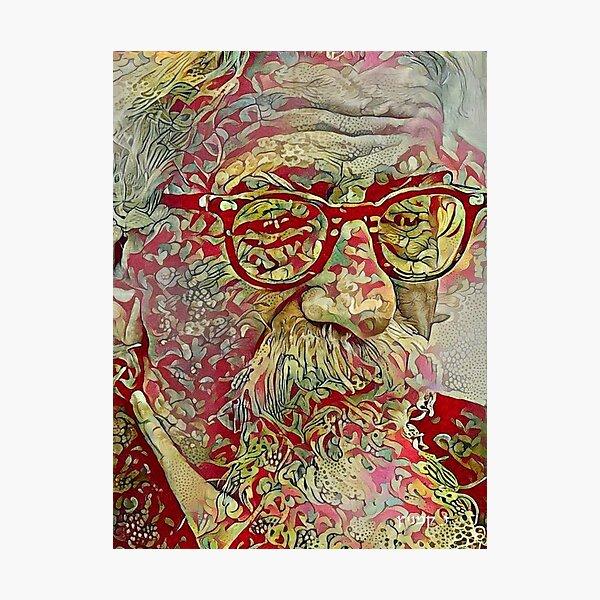 Rabbi Abraham Joshua Heschel Photographic Print