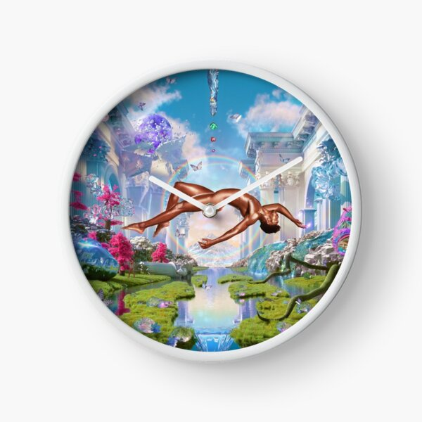 Poster Lil Nas X Cover Montero album Clock