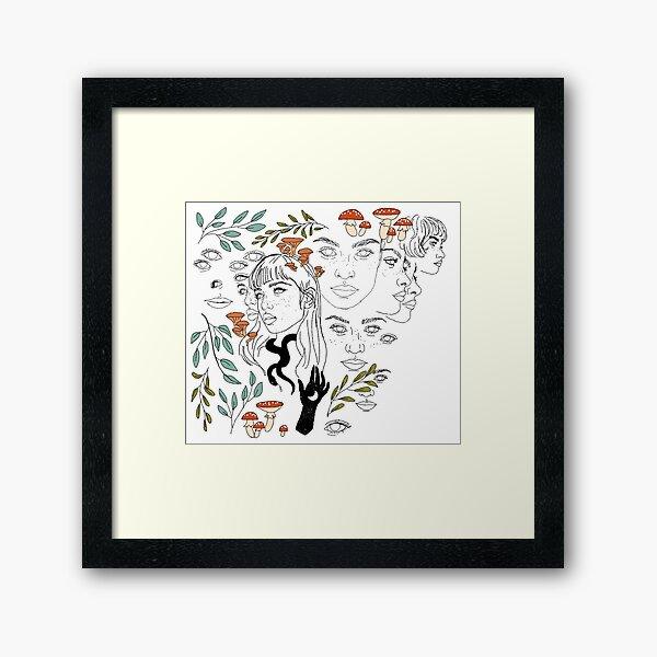 Gardening Framed Art Print
