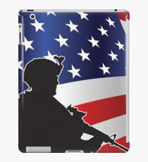 USA PATRIOT iPad Case/Skin