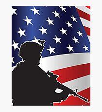 USA PATRIOT Photographic Print