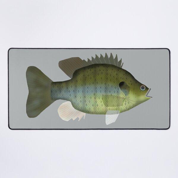 Black Spotted Sunfish Desk Mat