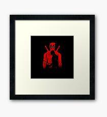 Redhood Hero Framed Print