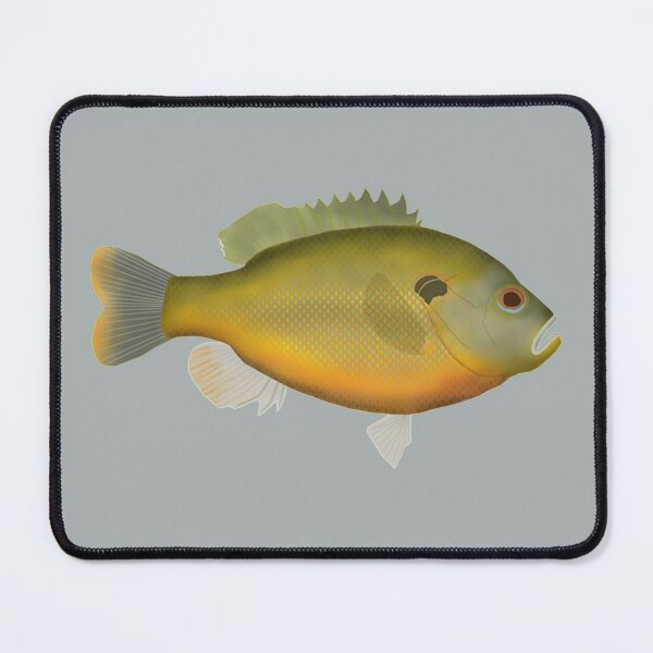 Redspotted Sunfish Mouse Pad