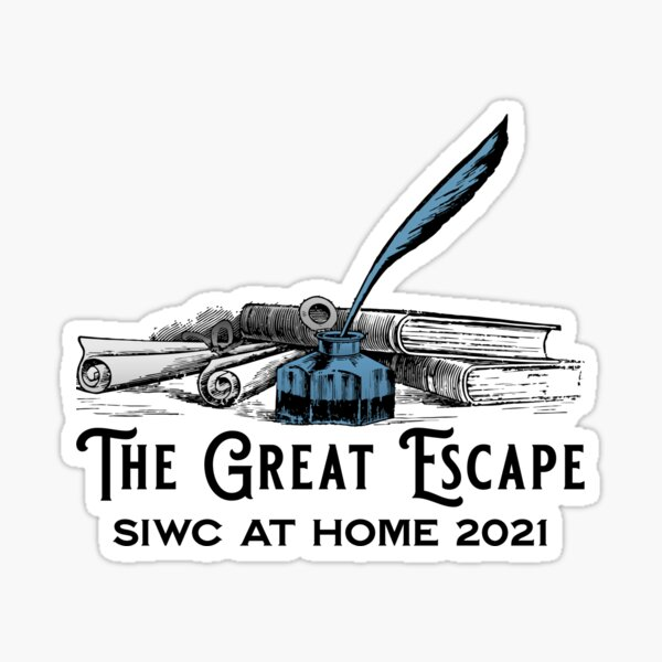 The Great Escape -- Writing! SiWC @ Home 2021 Sticker