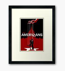 Americans Framed Print