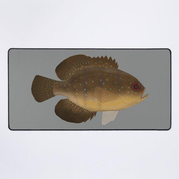 Blue Spotted Sunfish Desk Mat