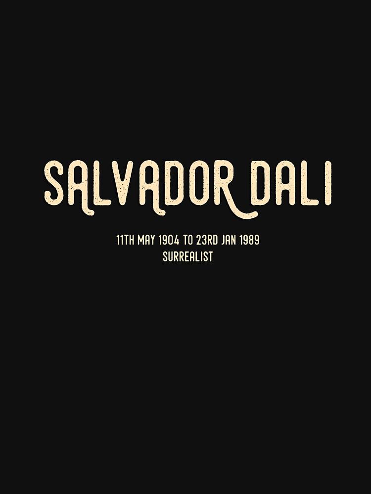 Salvador Dali by trilliansphere