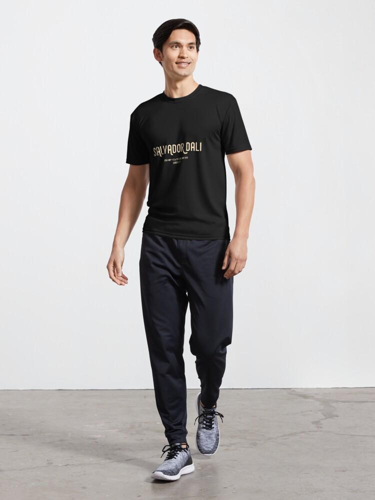 Alternate view of Salvador Dali Active T-Shirt