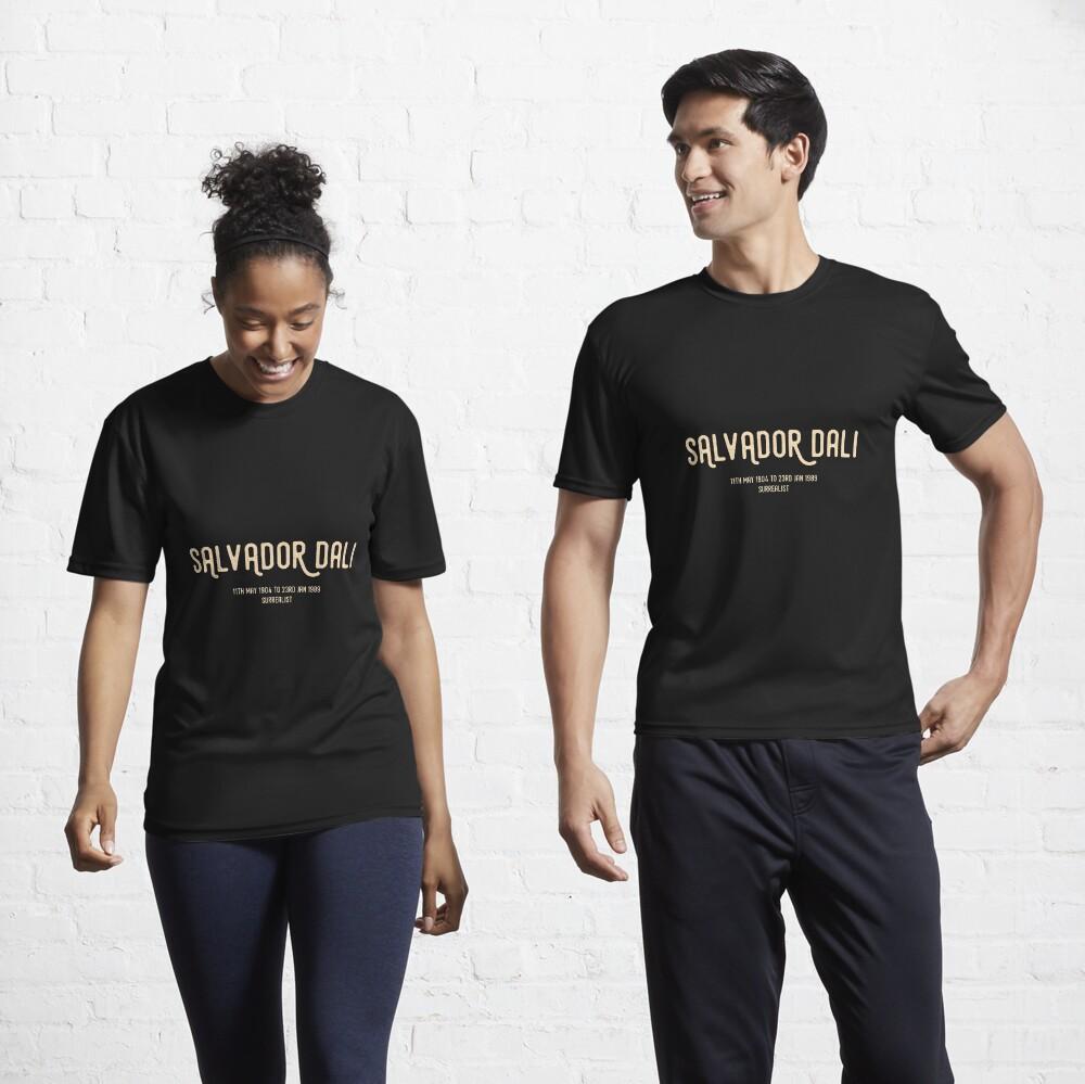 Salvador Dali Active T-Shirt