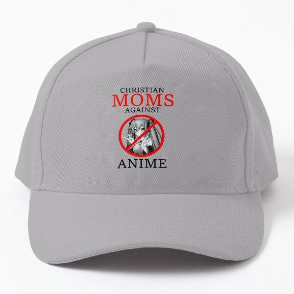 Christian Moms Against Anime Baseball Cap